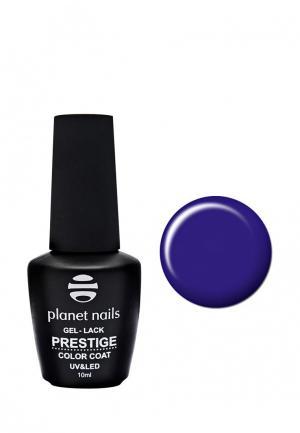Гель-лак для ногтей Planet Nails PRESTIGE - 561, 10 мл синяя пыль. Цвет: синий