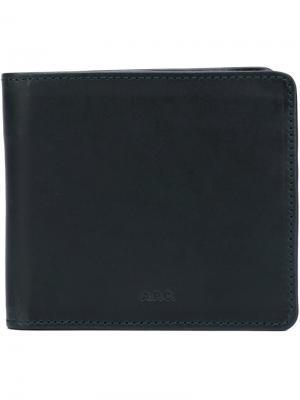 Классический бумажник A.P.C.. Цвет: чёрный