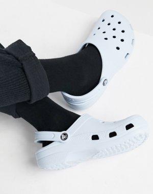 Голубые классические кроксы -Голубой Crocs