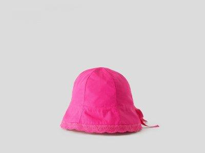 Панама Benetton. Цвет: розовый