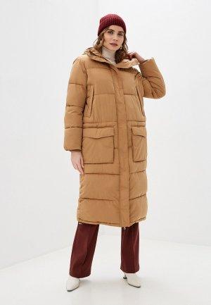 Куртка утепленная 2nd Day. Цвет: коричневый