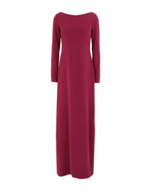 Длинное платье FISICO. Цвет: баклажанный