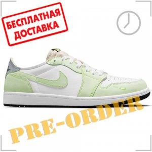 Кроссовки Air Jordan. Цвет: зелёный