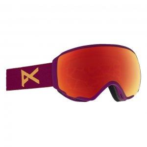 Маска сноубордическая WM1 MFI Anon. Цвет: фиолетовый
