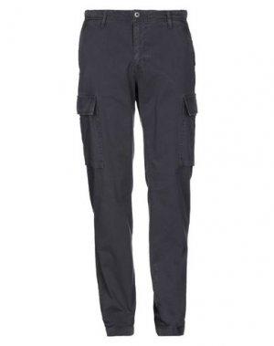 Повседневные брюки FRANKLIN & MARSHALL. Цвет: стальной серый