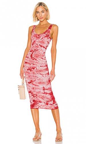 Платье Enza Costa. Цвет: розовый