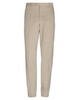 Повседневные брюки ANGELO NARDELLI. Цвет: зеленый-милитари