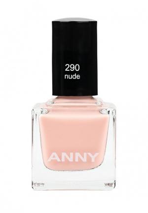 Лак для ногтей Anny тон 290. Цвет: розовый