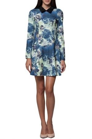 Платье JOELLE YOUNG JO'ELLE. Цвет: blue and light green