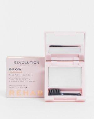 Восстанавливающее мыло и стайлер для ухода Rehab Soap & Care Styler-Бесцветный Revolution