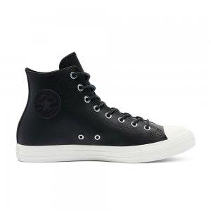 Chuck Taylor All Star Leather High Top Converse. Цвет: чёрный