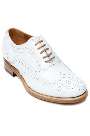 Shoes British passport. Цвет: white