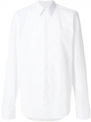 Рубашка-смокинг Fashion Clinic Timeless. Цвет: белый