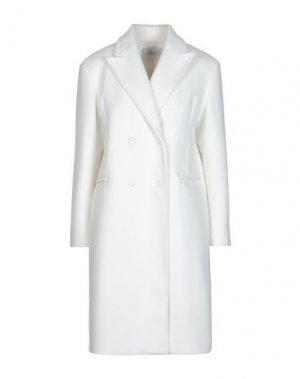 Пальто KAOS. Цвет: белый