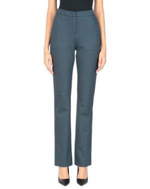Повседневные брюки JO NO FUI. Цвет: цвет морской волны