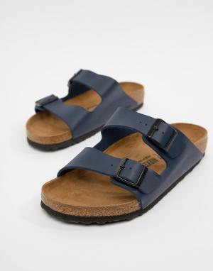 Синие сандалии Arizona birko-flor-Синий Birkenstock