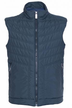 Жилет Versace Collection. Цвет: темно-синий