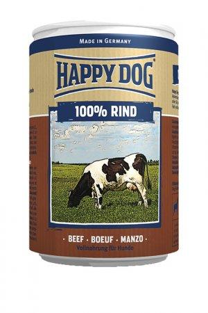 100% мясо говядина 0,4 кг HAPPY DOG. Цвет: белый