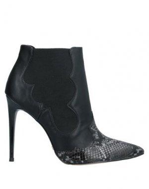 Полусапоги и высокие ботинки CECCONELLO. Цвет: черный