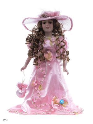 Кукла фарфор 16 Ната Angel Collection. Цвет: розовый
