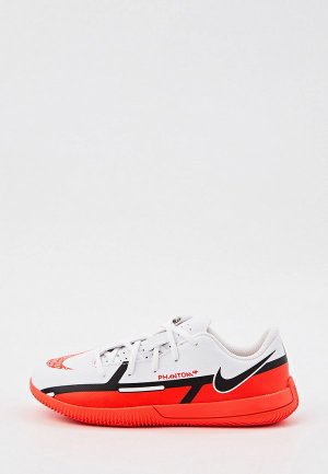 Бутсы зальные Nike JR PHANTOM GT2 CLUB IC. Цвет: белый