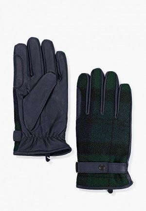 Перчатки Barbour. Цвет: зеленый