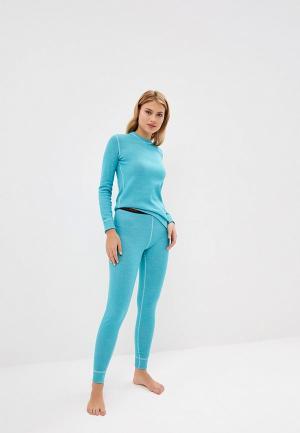 Термобелье Montero Sity Line Super Wool Protection. Цвет: бирюзовый