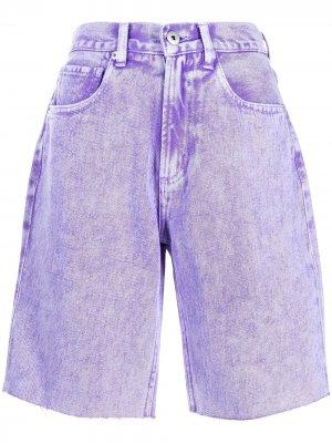 Джинсовые шорты Ground Zero. Цвет: фиолетовый