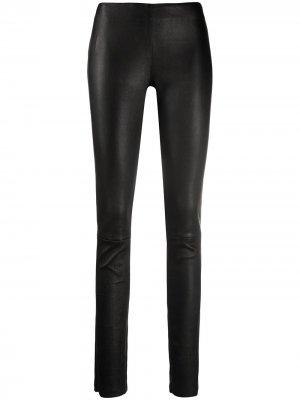 Skinny leather trousers Drome. Цвет: черный