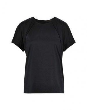 Pубашка DONNA KARAN. Цвет: черный