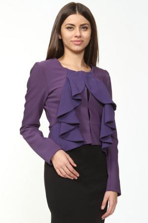 Пиджак Anna Rita N. Цвет: фиолетовый