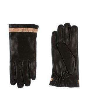 Перчатки ALVIERO MARTINI 1a CLASSE. Цвет: темно-коричневый