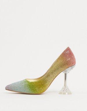 Туфли-лодочки на каблуке -Многоцветный Jeffrey Campbell