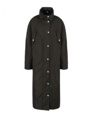 Легкое пальто KARL LAGERFELD. Цвет: зеленый-милитари
