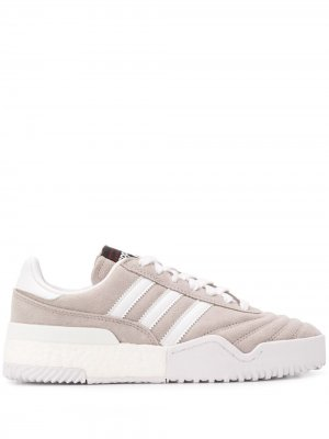 Кроссовки BBall Soccer adidas Originals by Alexander Wang. Цвет: серый