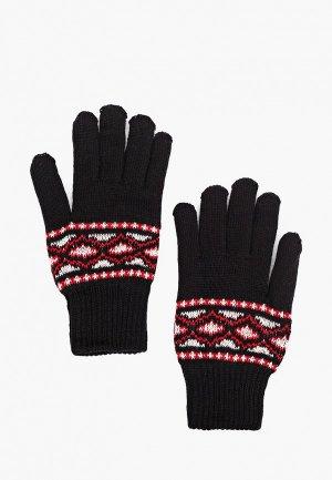 Перчатки Kaftan. Цвет: черный