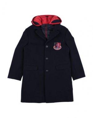 Пальто DOLCE & GABBANA. Цвет: темно-синий