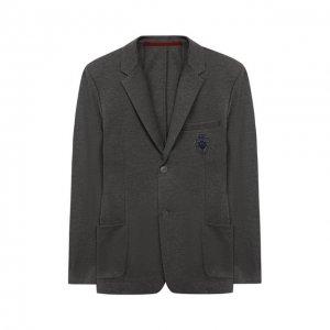 Пиджак Dal Lago. Цвет: серый