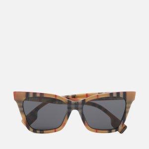 Солнцезащитные очки Elsa Burberry. Цвет: коричневый