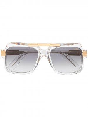 Солнцезащитные очки Legends в прямоугольной оправе Cazal. Цвет: нейтральные цвета