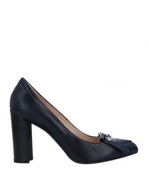 Туфли TOD'S. Цвет: темно-синий