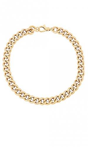 Цепочка paulette Dorsey. Цвет: металлический золотой