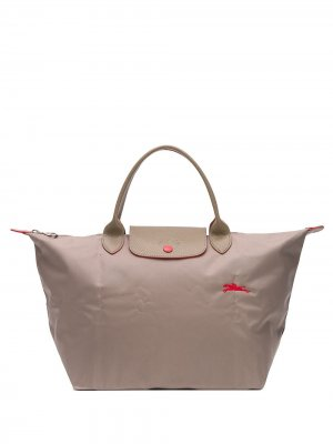 Большая сумка-тоут Le Pliage Longchamp. Цвет: нейтральные цвета