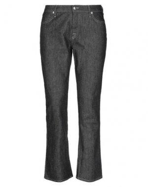 Джинсовые брюки DOUUOD. Цвет: черный