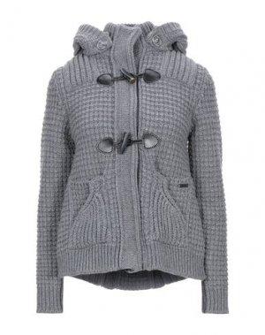 Пальто BARK. Цвет: серый