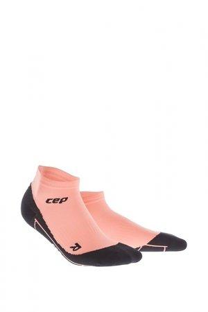 Компрессионные носки д/фитнеса CEP. Цвет: розовый