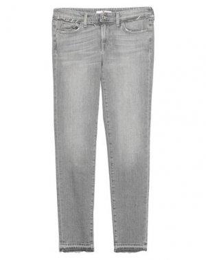Джинсовые брюки 7 FOR ALL MANKIND. Цвет: серый