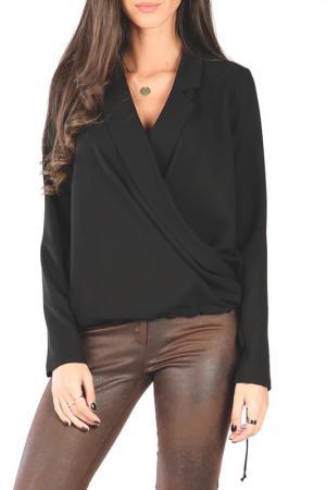 Блуза Joins. Цвет: black