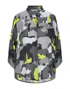 Pубашка BRAND UNIQUE. Цвет: серый