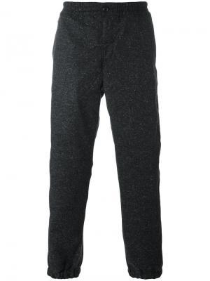 Классические спортивные брюки Carhartt. Цвет: серый